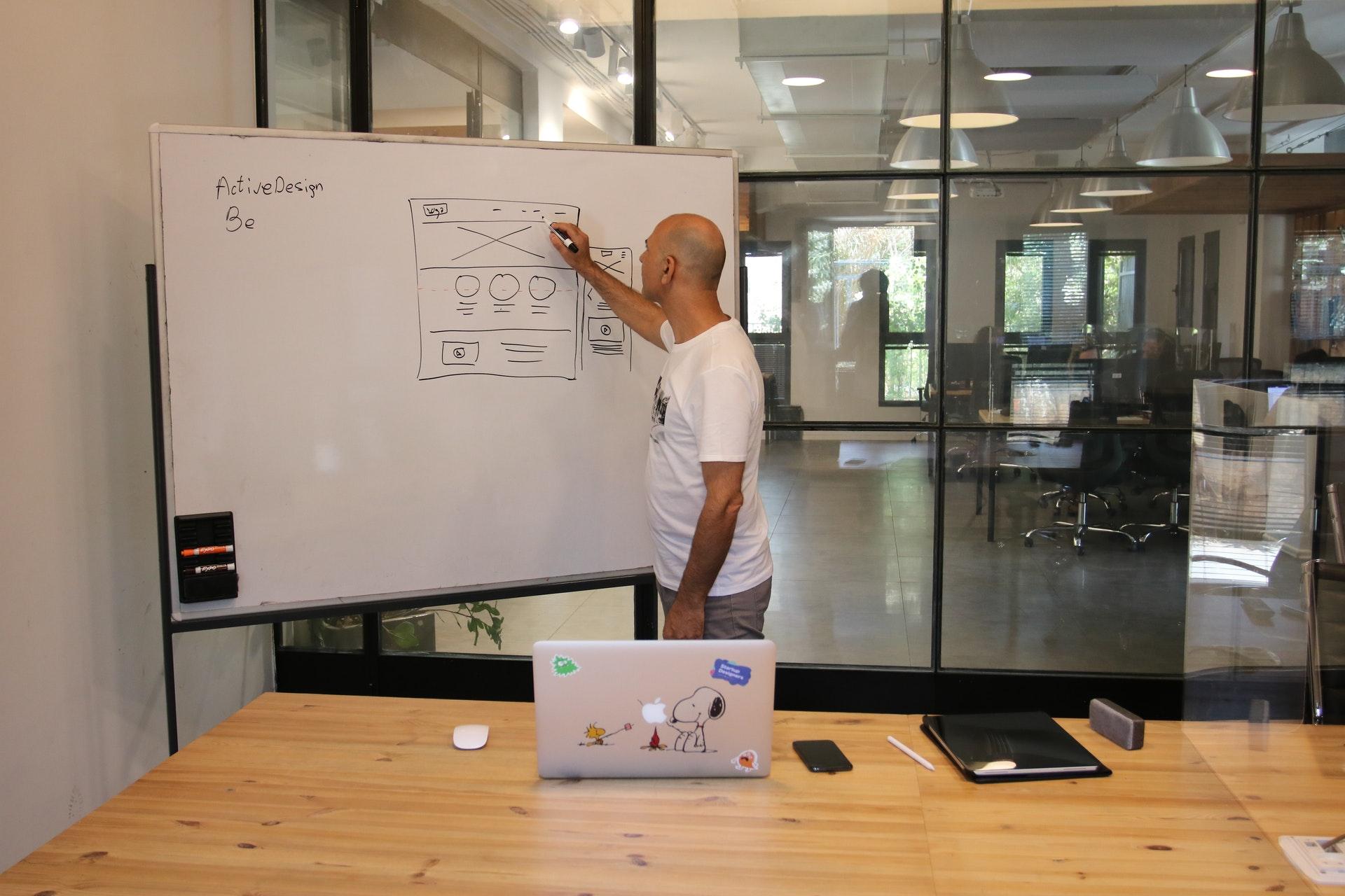 Equipo de diseño UX/UI de compañía de software