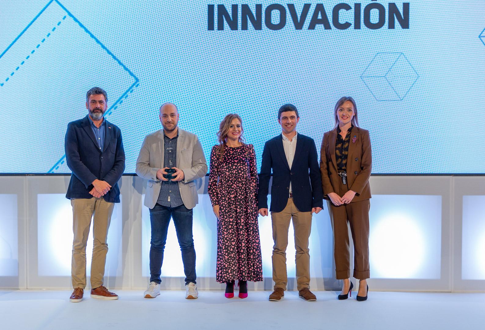 Recepción premio RSE Xunta de Galicia Tecalis