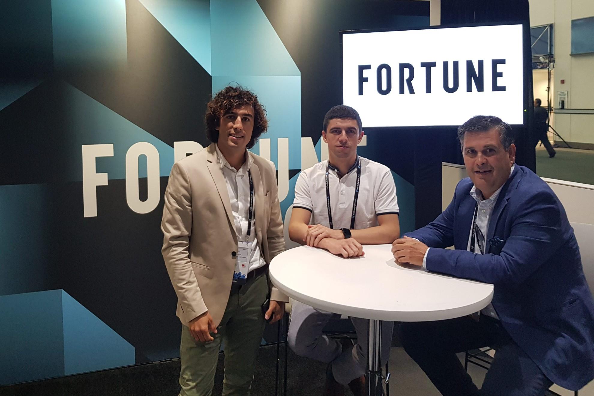 Entrevista en Fortune