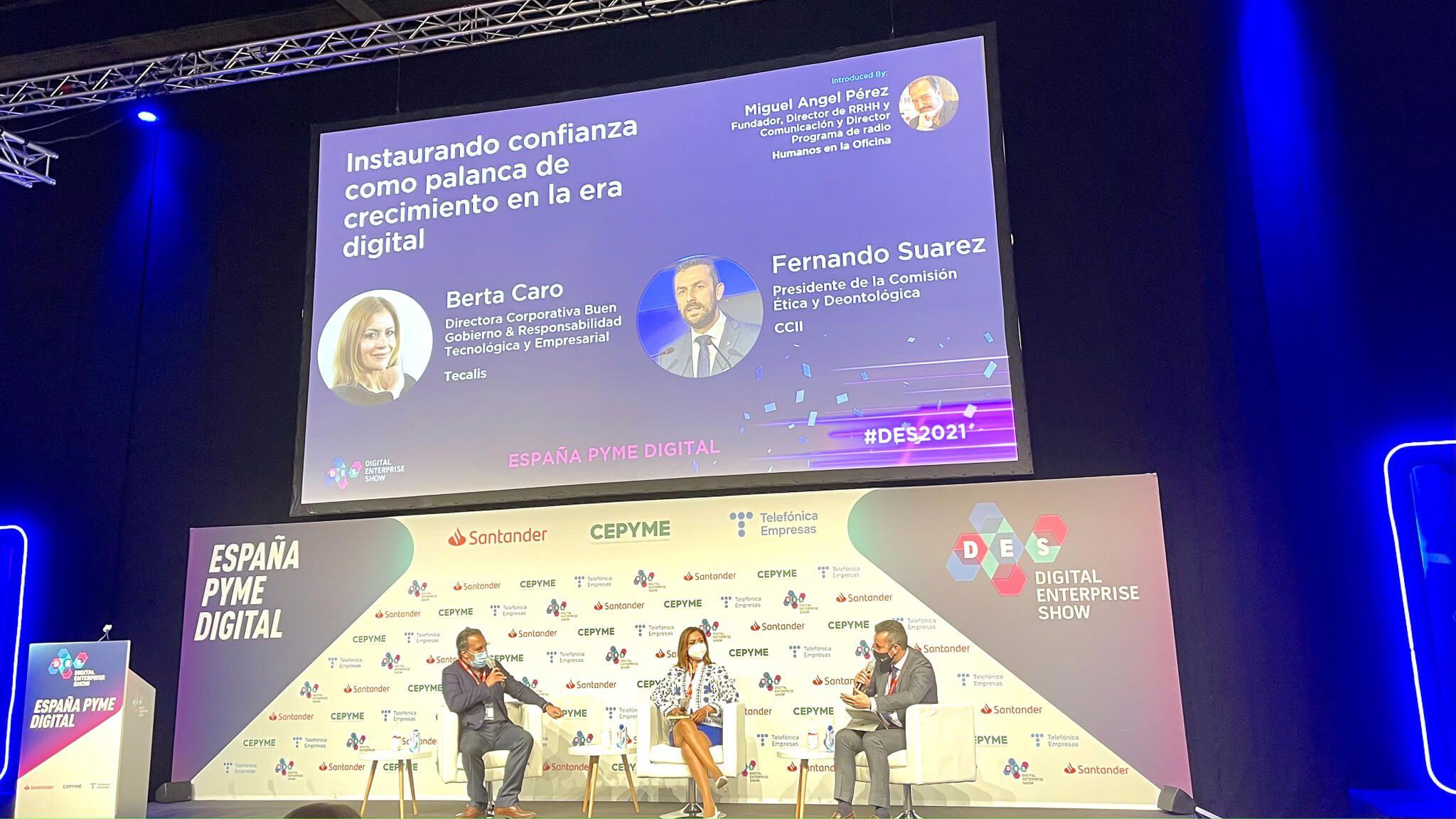 Ponencia Tecalis en Digital Enterprise Show